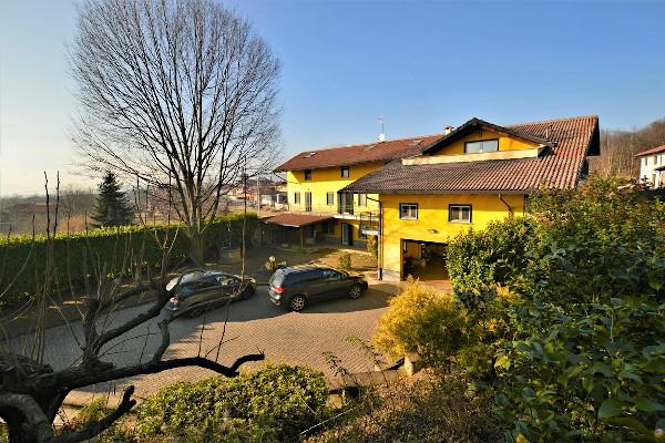 Großes Grundstück auf dem Land - Bairo, Piemont