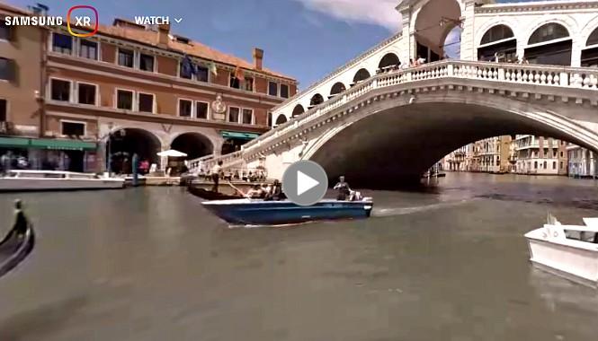 virtuellen Rundgang durch Venedig