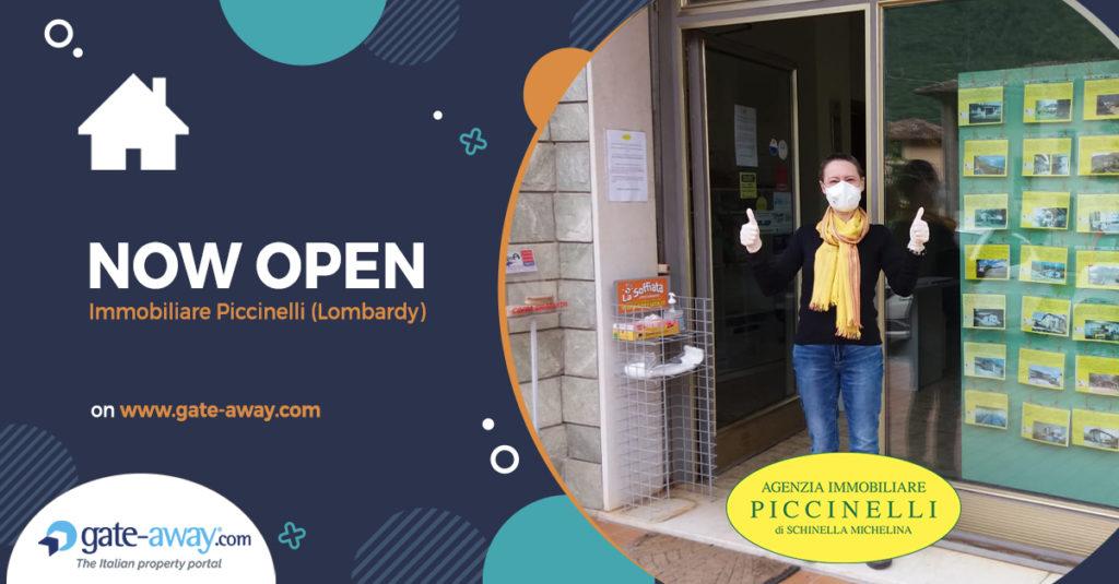 Piccinelli immobiliare - jetzt geöffnet