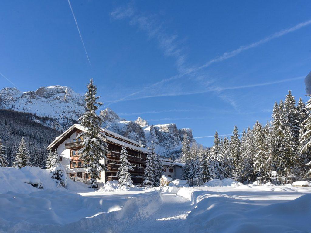 Wohnung mit Panoramablick - Corvara, Trentino Südtirol